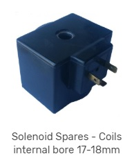 Solenoid coils 17mm to 18mm bore
