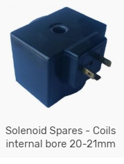 Solenoid coils 20mm to 21mm bore