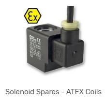 ATEX solenoid coils